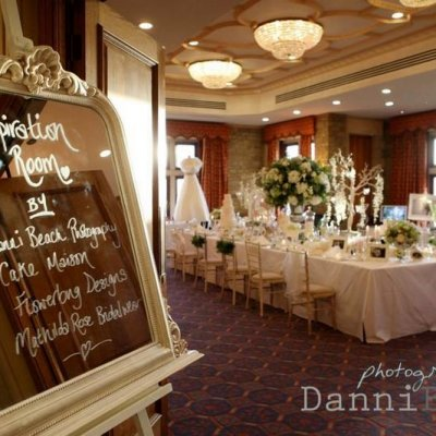 """Wedding Inspiration Room"""" at South Lodge Hotel January 2014"""