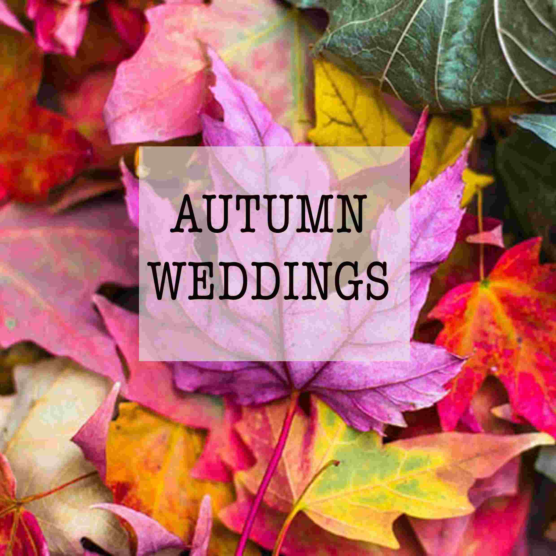 Autumn wedding sussex bridal shop