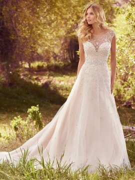 Maggie Sottero – FREESIA (IVORY PEWTER ACCENT)