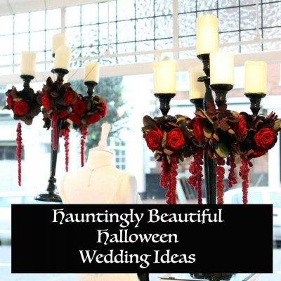 Hauntingly Beautiful Wedding Ideas