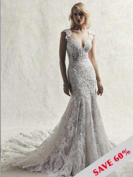"Maggie Sottero ""Chauncey"" Wedding Dress UK18"