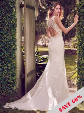 "Maggie Sottero ""Rhonda"" Wedding Dress UK12"