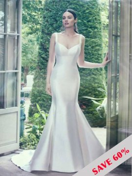 "Maggie Sottero ""Teagan"" Wedding Dress UK8"