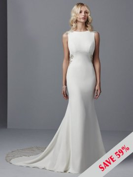 "Sottero & Midgley ""Noah"" Wedding Dress UK10"