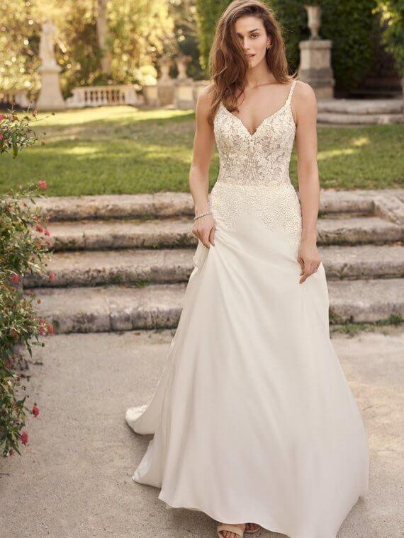 rebecca ingram agnes wedding dress