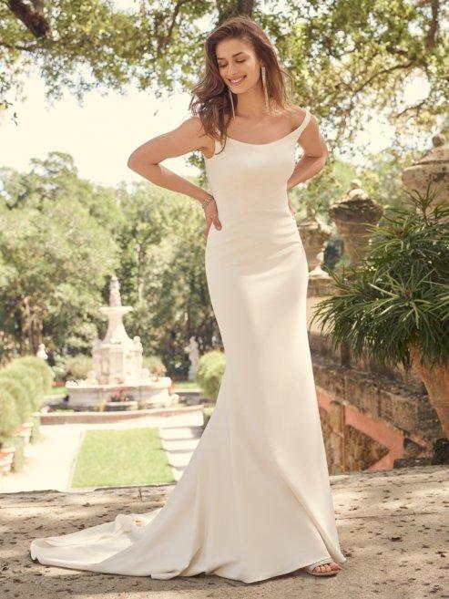 Maggie Sottero sample sale wedding dress bevan