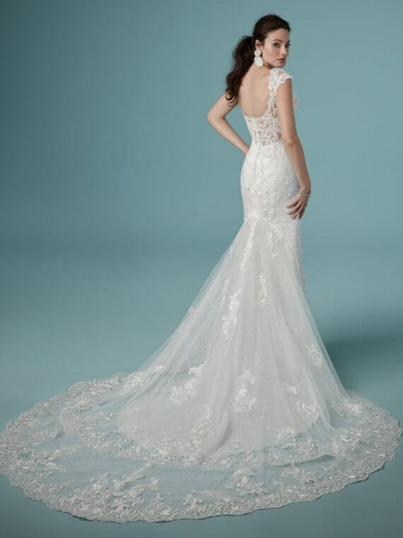 cheap discount maggie sottero celeste sample dress
