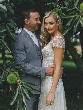 """Maggie Sottero """"Ettia"""" Wedding Dress UK16"""