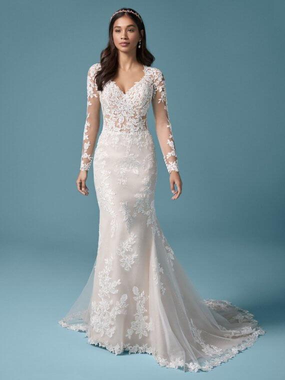 Maggie Sottero francesca wedding dresss sample sale sussex