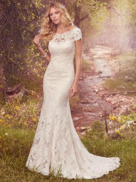 "Maggie Sottero ""Hudson"" Wedding Dress UK12"