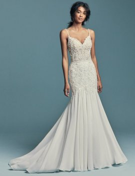 "Maggie Sottero ""Imani"" Wedding Dress UK12"