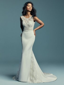 "Maggie Sottero ""Jayleen"" Wedding Dress UK10"