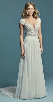 "Maggie Sottero ""Monarch"" Wedding Dress UK10"