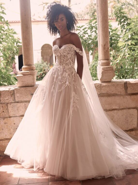 MAGGIE SOTTERO ORLANDA SAMPLE SALE WEDDING DRESS SUSSEX