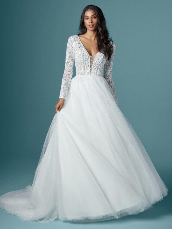 cheap sample sale maggie sottero tiana wedding dress