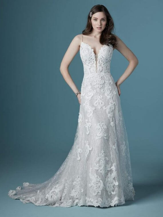 maggie sottero tuscany lane cheap sample sale wedding dress