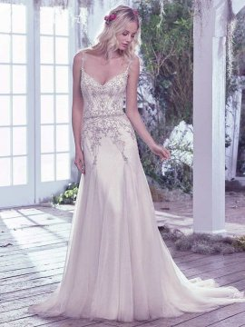 "Maggie Sottero ""Andraea"" Wedding Dress UK10"