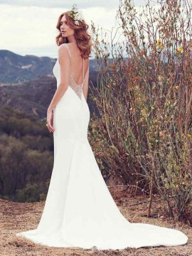 "Maggie Sottero ""Evangelina"" Wedding Dress UK12"