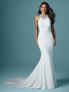 "Maggie Sottero ""Dawson"" Wedding Dress UK10"