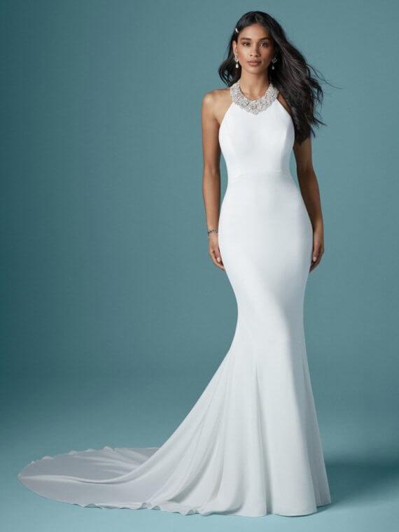 cheap maggie sottero dawson sample sale wedding dress