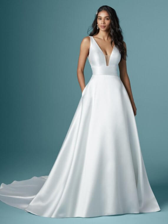 cheap maggie sottero wedding dress sample sale