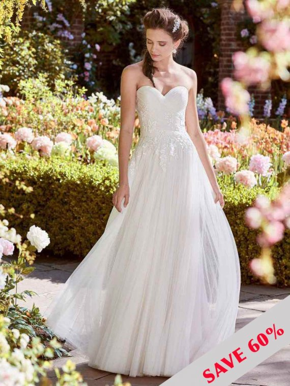 REBECCA INGRAM HILARY SAMPLE WEDDING DRES SALE