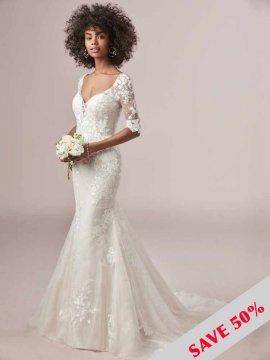 """Rebecca Ingram """"Mandy"""" Wedding Dress UK14"""