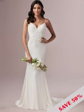 "Rebecca Ingram ""Candice"" Wedding Dress UK12"