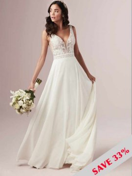 "Rebecca Ingram ""Mildred"" Wedding Dress UK16"
