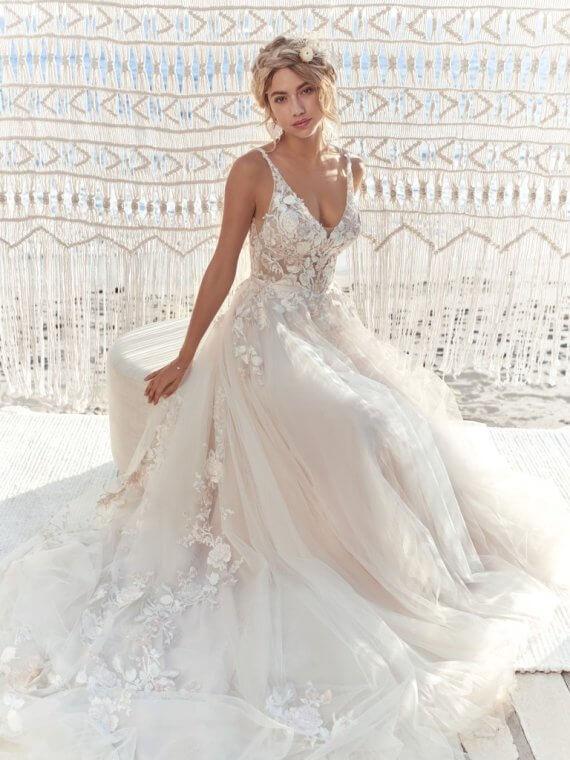 maggie sottero minerva sample wedding dress sale sussex london