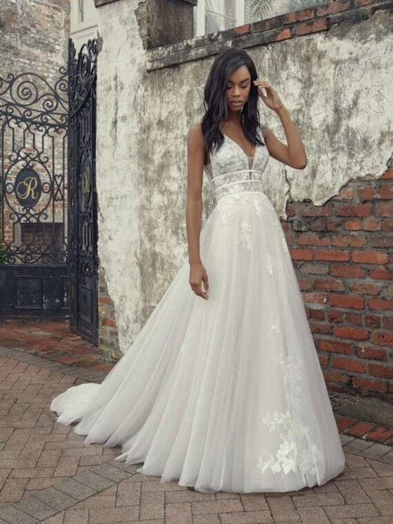 Rebecca Ingram Raelynn sample sale wedding dress discount cheap
