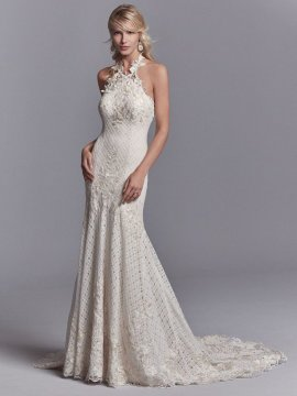 "Sottero & Midgley ""Chance"" Wedding Dress UK12"