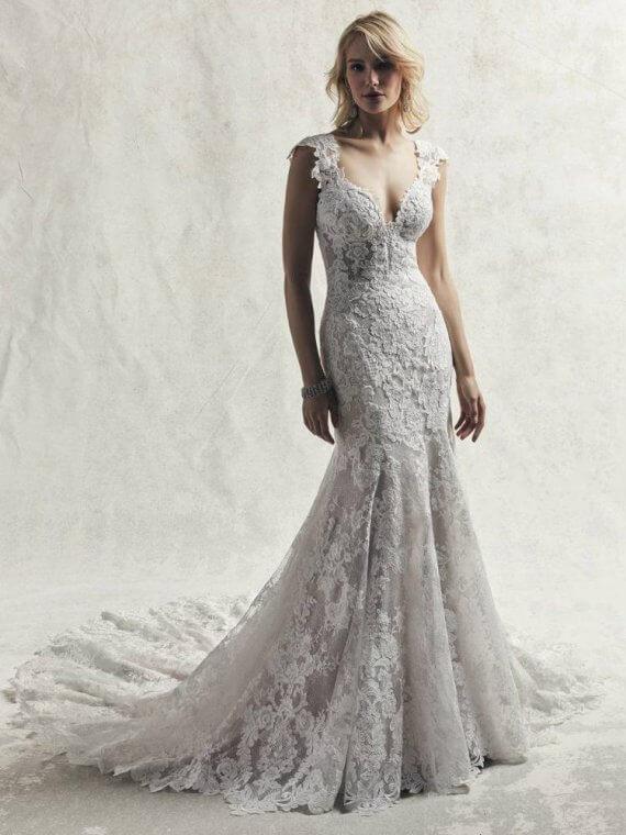 Maggie sottero Chauncey sample wedding dress sale