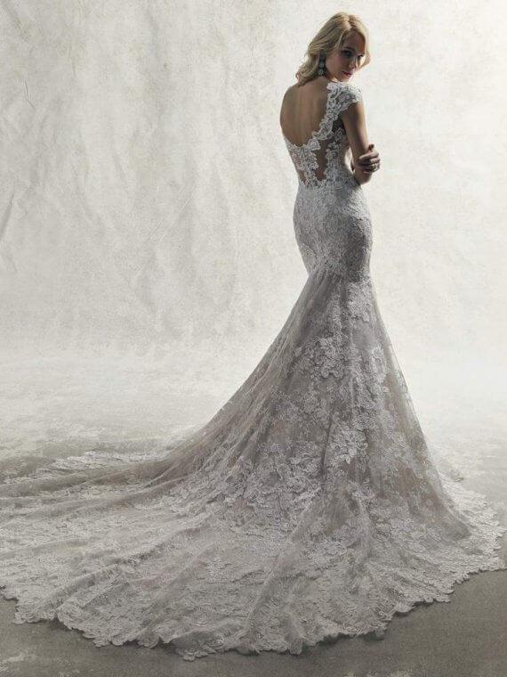 maggie sottero sample wedding dress sale