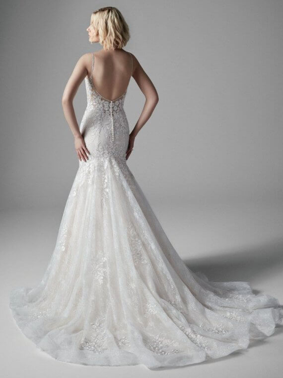 cheap discount wedding dress ex sample sale maggie sottero