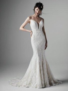 "Sottero & Midgley ""Noella"" Wedding Dress UK12"