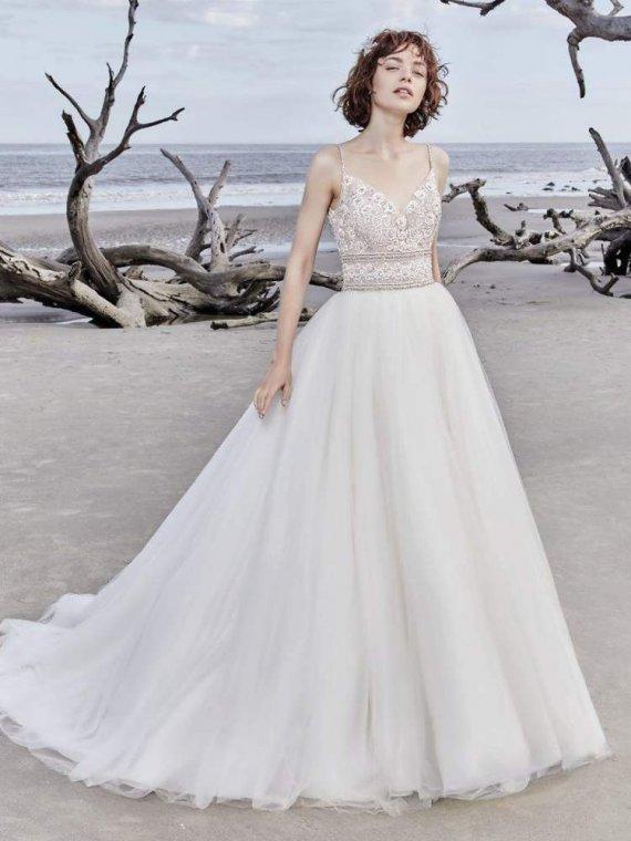Sottero Midgley Saylor Rose sample dress sale sussex