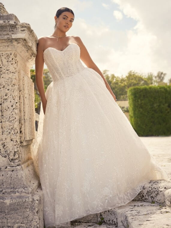 maggie sottero curvy zartasha sample sale wedding dress