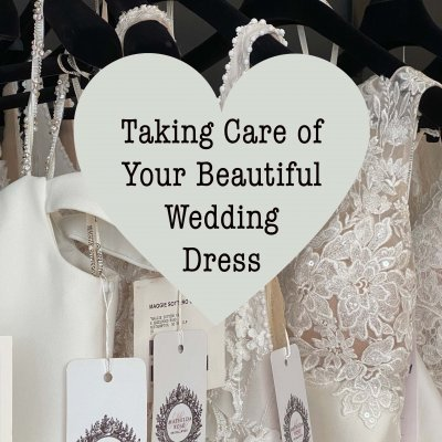 Taking Care of Your Beautiful Wedding Dress