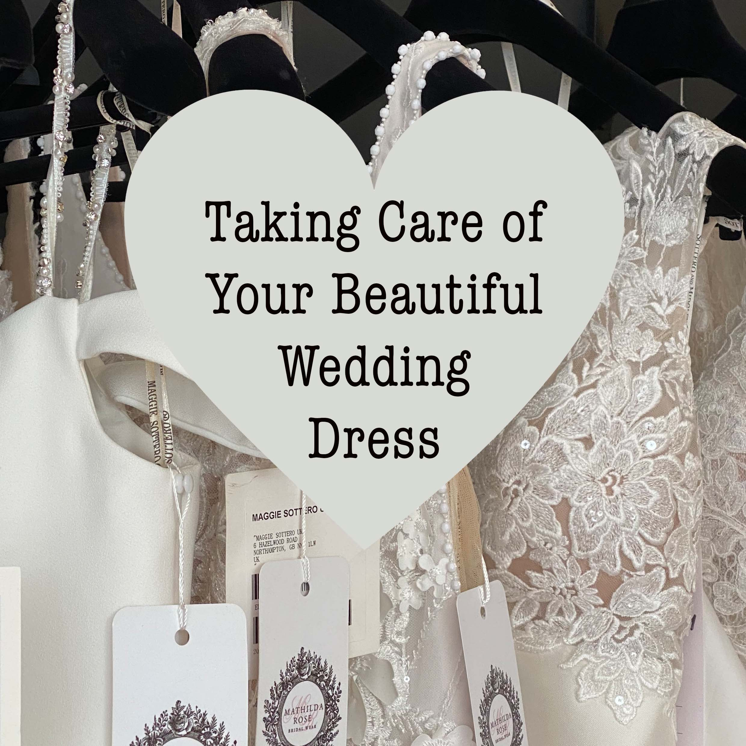 Taking care of your beautiful wedding dress if your wedding is postponed