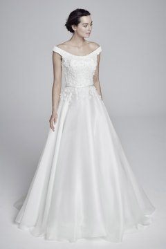 "Suzanne Neville ""Floriana"" Wedding Dress UK12"