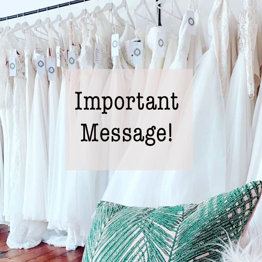 Sussex wedding dress shop