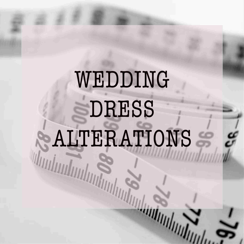 Wedding dress sussex alterations seamstress
