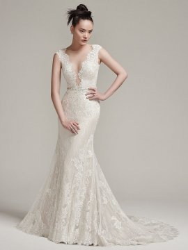 Sottero & Midgley – WYATT(HC) (IVORY OVER MOCHA PEWTER ACCENT)