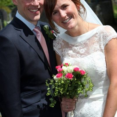 Emma & Andy's British Fete Themed Wedding