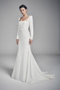 "Suzanne Neville ""Amber"" Wedding Dress UK14"
