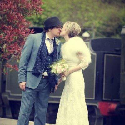 Sally & Jon Art Deco Wedding