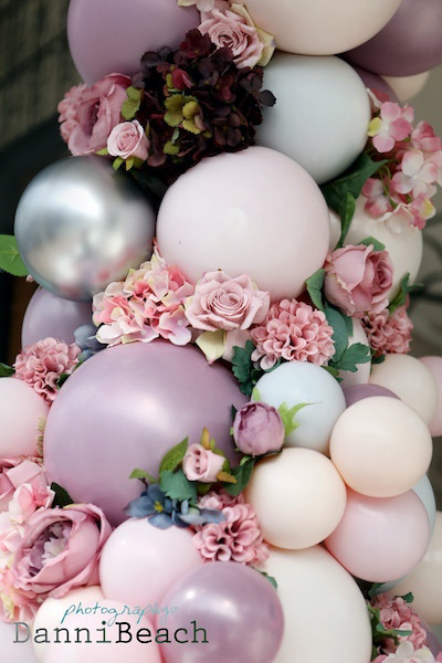 #thewindowat62 luxury wedding balloon arch