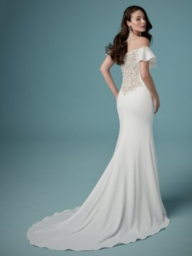 "Maggie Sottero ""Ainsley"" Wedding Dress UK12"