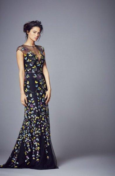 black lace wedding dress sussex